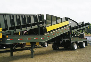 Trailer Type Roll Screen