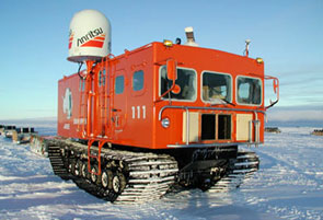Snow vehicles for Antarctic Observation
