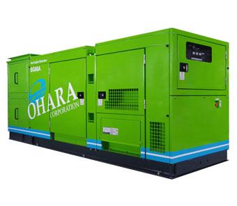 Biogas power generator | Ohara Corporation