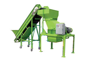 Compact One-Shaft Shredder