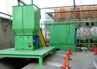 容器リサイクルプラント概要フロー