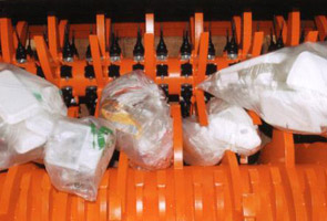 Two-Shaft Bag Breaker