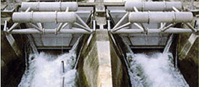 Sluice equipment